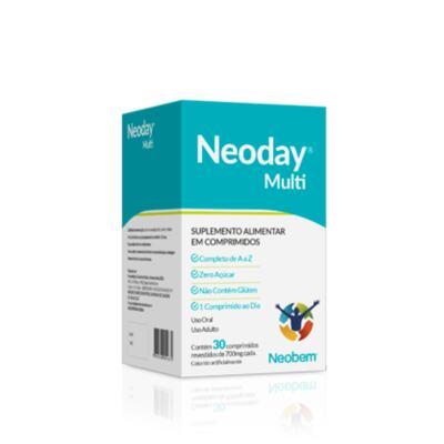 Suplemento Alimentar Neoday Multi - 30 Comprimidos