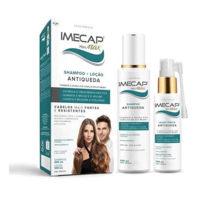 Kit ShampooImecap Hair Max - Antiqueda   200ml   + Loção Tônica 100ml