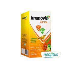 Xarope Imunovic Vitamina C + Zinco - 400mg   30 cápsulas