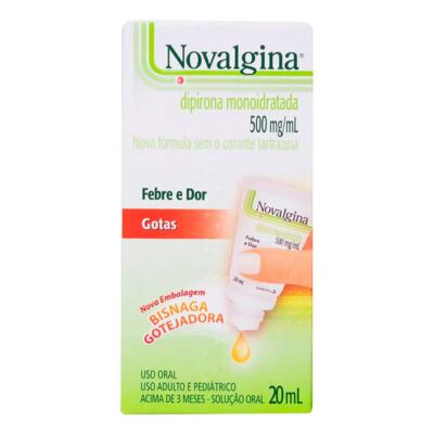 Novalgina - 500mg | 20ml