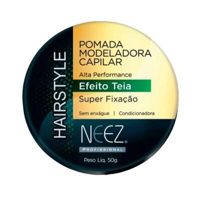 Pomada Capilar Modeladora Neez - Efeito Teia | 50g