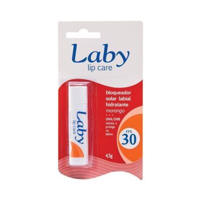 Protetor Labial Laby - FPS30 Sabor Morango   4,5g