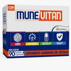 Suplemento Alimentar Munevitan - 90 cápsulas