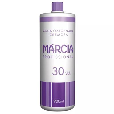 Água Oxigenada Cremosa Márcia - 30 Volumes | 900ml