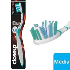 Escova Dental Close-Up Deep Clean - Media   1 unidade