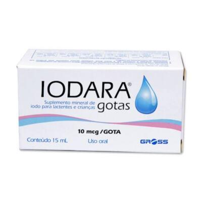 Iodara Gotas - 10mcg | 15mL