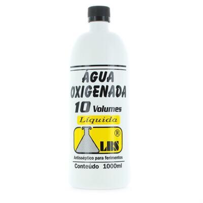Água Oxigenada LBS - 10 Volumes | 1 Litro