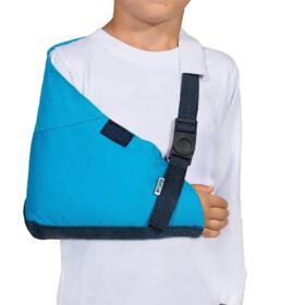Tipoia Estabilizadora Estofada Velpeau Mercur Infantil - Azul   1 Unidade
