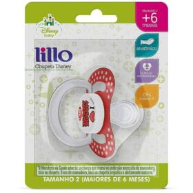 Chupeta de Silicone Ortodôntica Lillo Disney - Minnie | 1 unidade