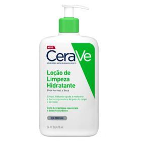 Loção de Limpeza Hidratante CeraVe - Pele Normal e Seca | 473ml