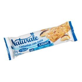 Barra De Cereal Naturale - sabor castanha com aveia light   25g