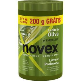 Creme de Tratamento Novex - Azeite de Oliva   1Kg   Pague 800g Leve 1Kg