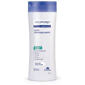 Leite Demaquilante Davene Higiporo - para todos os tipos de pele   120mL