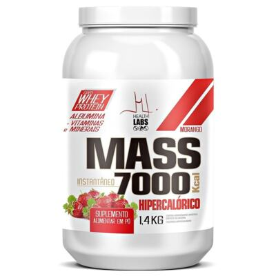 Mass 7000 Health Labs - Morango | 1,4Kg
