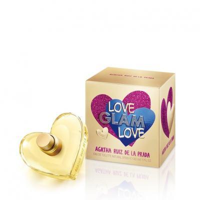 Imagem 1 do produto Love Glam Love by Agatha Ruiz de La Prada Feminino Eau de Toilette - 80ml