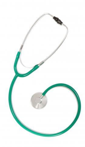 Estetoscópio Simples Unosson Verde EST302 P.A. Med