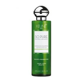 Keune So Pure Energizing - Shampoo Fortalecedor - 250ml