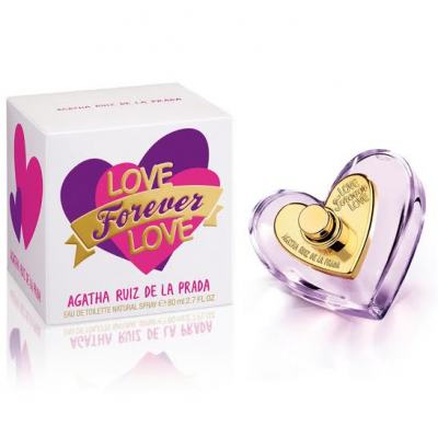 Love Forever Love Agatha Ruiz de la Prada Eau de Toilette Feminino - 50 ml