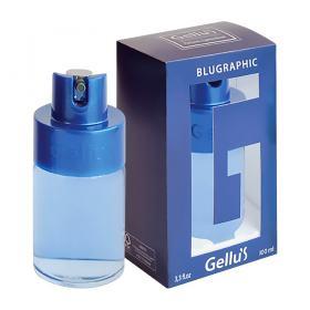 Blugraphic de Gellus Deo Colônia Unisex - 100 ml