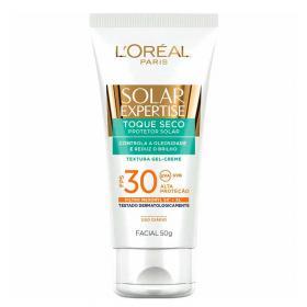 Protetor Solar L'Oréal Paris Solar Expertise Facial Toque Seco FPS 30 - 50g