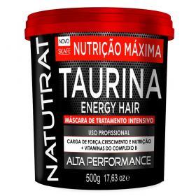 Skafe Natutrat Taurina Energy Hair - Máscara de Tratamento Intensivo - 500g