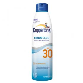 Coppertone Toque Seco Spray FPS 30 Bayer - Protetor Solar - 177ml