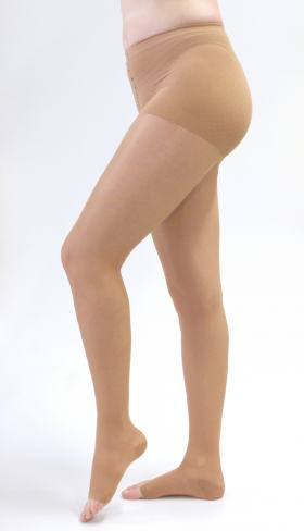 Meia Calça 20-30 mmHg Sheer & Soft Medi - NATURAL II PONTEIRA ABERTA