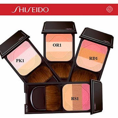Imagem 3 do produto Face Color Enhancing Trio Shiseido - Blush - OR1