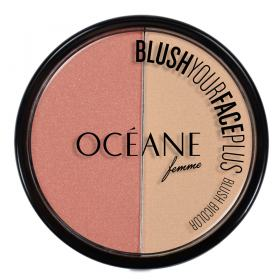 Blush Your Face Plus Océane - Duo de Blush - Peach - White Pink