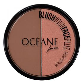Blush Your Face Plus Océane - Duo de Blush - Brown - Orange