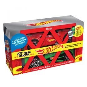 Ricca Hot Wheels Pista Oficina Kit - Shampoo + Condicionador - Kit
