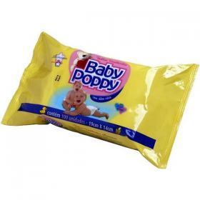 Lenço Umedecido Baby Poppy 100 unidades