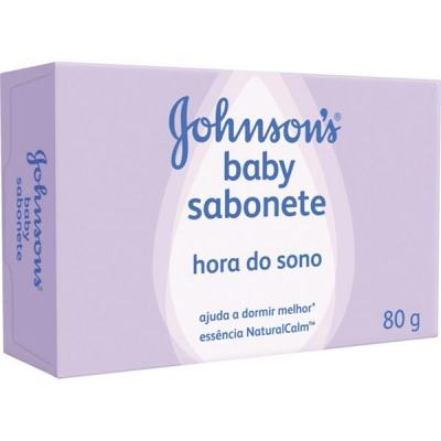 Sabonete em Barra Infantil Johnson Hora do Sono 80g
