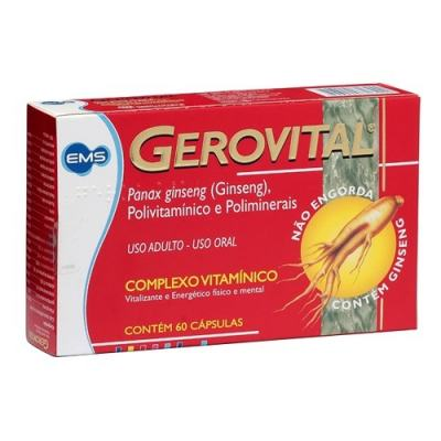 Gerovital 60 Cápsulas -