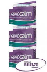 Nervocalm - Comprimido - Kit 3 caixas (60 cada) -