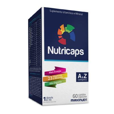 NUTRICAPS 60CPS - MAXINUTRI