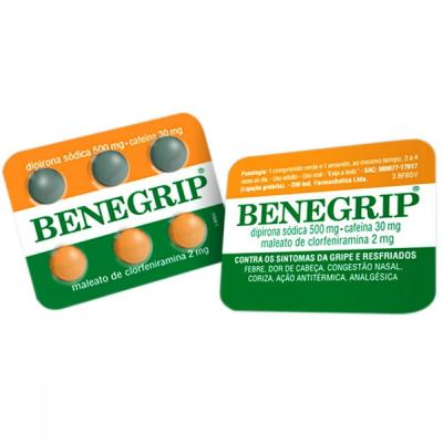 Benegrip 6 comprimidos