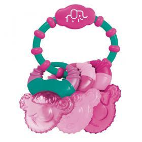 Mordedor com Gel Cool Rings Rosa Multikids Baby - BB167 - BB167