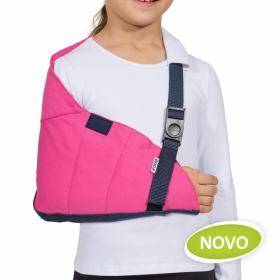 Tipóia Estabilizadora Velpau Infantil - Rosa Infantil