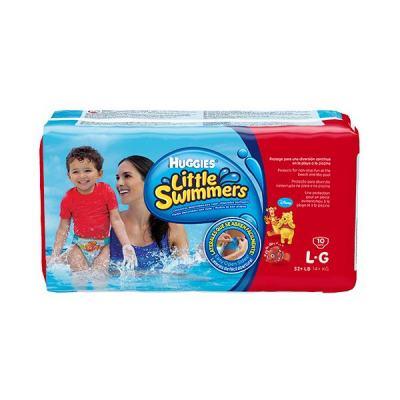 Fraldas Huggies Little Swimmers Mar e Piscina G 10 unidades