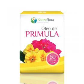 Óleo de Prímula - 500 mg - 60 cápsulas - Nutreflora -