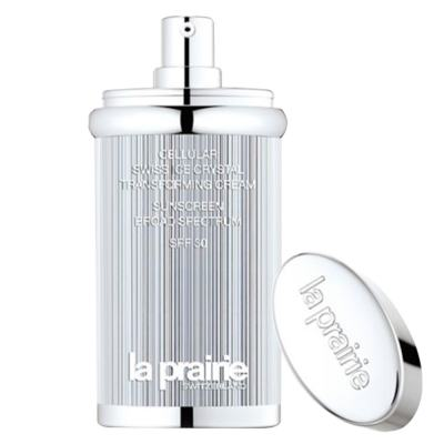 Base Facial La Prairie Cellular Swiss Ice Crystal Transforming Cream SPF 30 - Tan