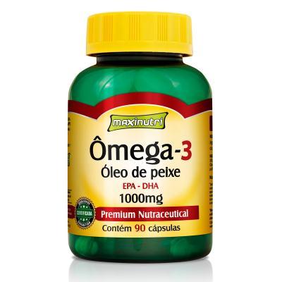 Ômega 3 1g 90Cps - Maxinutri - 90Cps