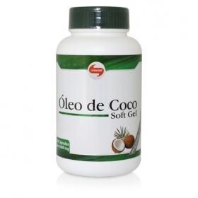 Óleo De Coco 60 Cápsulas Vitafor