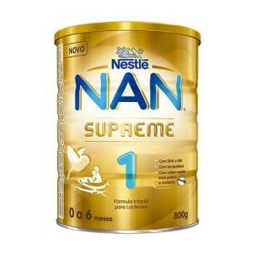 Leite Em Pó Nan Supreme 1 Com 800 Gramas -